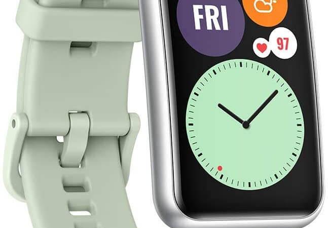 مراجعة وعرض مميزات الساعة الذكية Huawei Watch Fit من Huawei