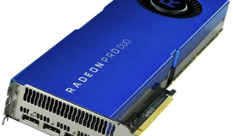 تعرف علي سعر ومواصفات كارت الشاشة Radeon Pro Duo من AMD